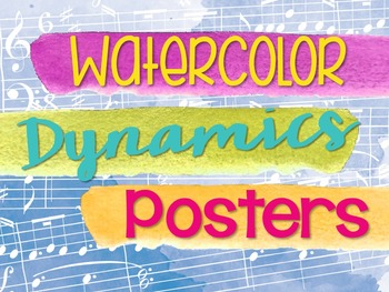 Dynamics Posters - Watercolor