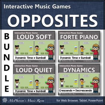 Dynamics ~ Music Games Interactive Music Games Bundle {gumball}