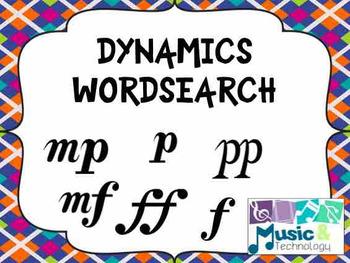 Dynamics Word Search