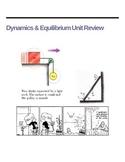Dynamics and Equilibrium Unit Practice Problems