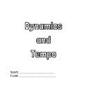 Dynamics and Tempo Packet