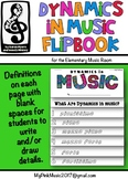 Dynamics in MUSIC Flip-Book: from pianissimo to fortissimo