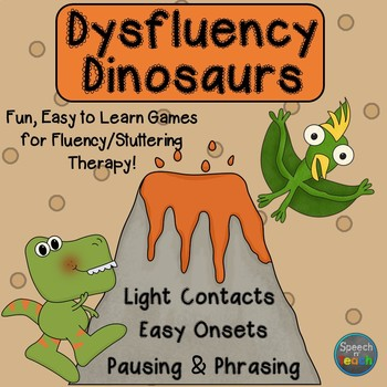 Dysfluency Dinosaurs: Games for Fluency/Stuttering Therapy