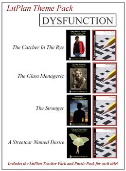 Dysfunction Novel Unit Theme Pack Bundle