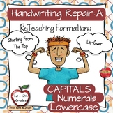Dysgraphia Handwriting Intervention - Occupational Therapy Tools for Formations