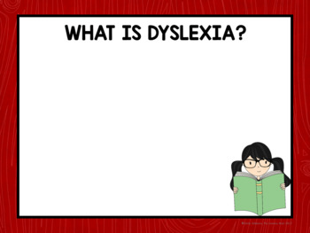 Dyslexia Awareness Month Display Editable for Bulletin Boards and Presentations