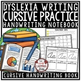 Dyslexia Cursive Handwriting Practice with Letter Formation- Dyslexia Activities