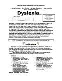 Dyslexia Handout