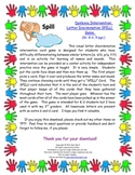 Dyslexia Intervention: Letter Recognition SPILL! Game (K-2, 9pgs.)
