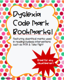 Dyslexia Reading Intervention Strategy Bookmarks