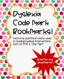 Dyslexia Reading Intervention Strategy Bookmarks