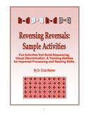 Dyslexia Reversing Reversals Sample: Orton Gillingham, sequence & tracking