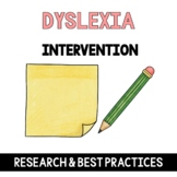 Dyslexia: School Age Assessment How To Guide with Research
