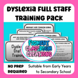 Dyslexia Teacher Training. Whole school. No further Prep required. All inclusive