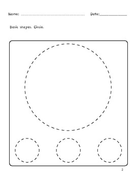 Dyslexia and Dysgraphia Collection: Basic Shapes