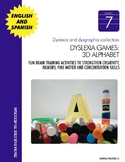 Dyslexia and Dysgraphia Collection: Dyslexia Games - 3D Alphabet