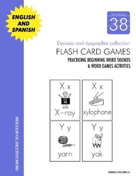 Dyslexia and Dysgraphia Collection: Flash Card Games
