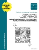 Dyslexia and Dysgraphia Collection: Games, Puzzles and Mazes