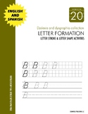 Dyslexia and Dysgraphia Collection: Letter Formation - Manuscript