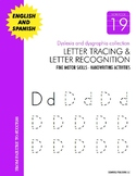 Dyslexia and Dysgraphia Collection: Letter Tracing Recognition - Manuscript