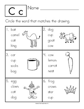 Dyslexia and Dysgraphia Collection: Matching Words and Pictures - Manuscript