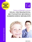 Dyslexia and Dysgraphia Collection: Visual Discrimination-Recognizing Reversals