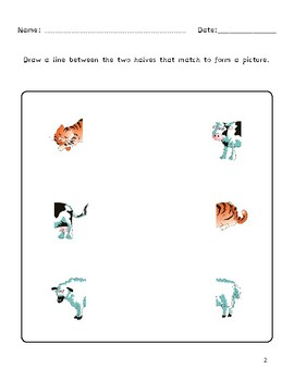 Dyslexia and Dysgraphia Collection: What is Missing Puzzles I
