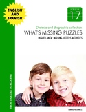 Dyslexia and Dysgraphia Collection: What's Missing Puzzles II