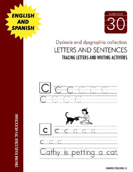 Dyslexia and Dysgraphia Collection: Writing Letters and Sentences - Manuscript