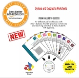 Dyslexia and Dysgraphia Workbooks Bundle