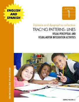 Dyslexia and Dysgraphia Workbooks Collection: Tracing Patterns and Lines