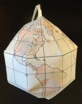 Dyson Earth Map Globe Ornament Activity