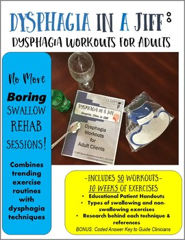 Dysphagia in a Jiff: Dysphagia Workouts for Adult Clients
