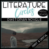 Dystopia Literature Circles Any Dystopian Fiction Book Club