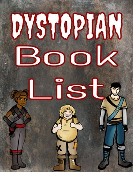 Dystopian Book List for 6th (Sixth) Grade
