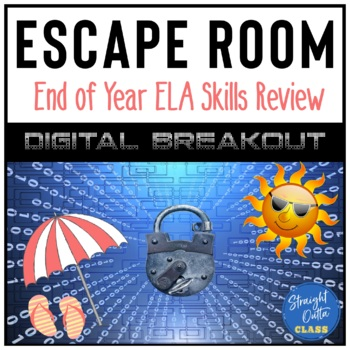 End of Year ELA Skills Breakout Escape Room