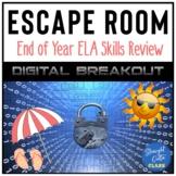 ELA Skills End of Year Breakout Escape Room  Google Classr
