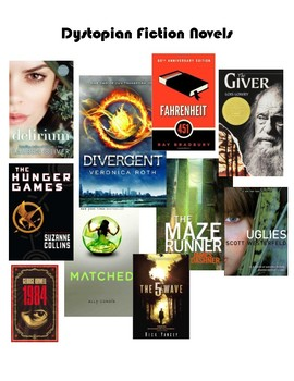 Dystopian Fiction Literature Circles Unit Reading & Writing Workshop Grades 7 +