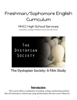 Dystopian Film Study- Packet Curriculum