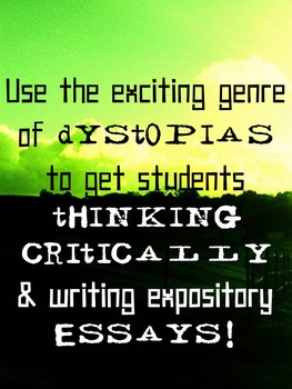Dystopian Booktalk -  Independent Novel and Genre Study {CCSS Aligned}