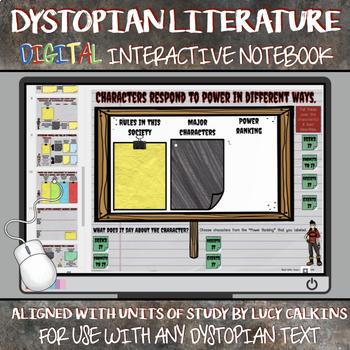 Dystopian Literature: A Digital Interactive Notebook (Google Slides)