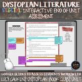 Dystopian Literature Book Clubs: End of Unit DIGITAL Inter