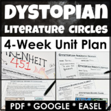 Dystopian Literature Unit with Lesson Plans, Activities, &