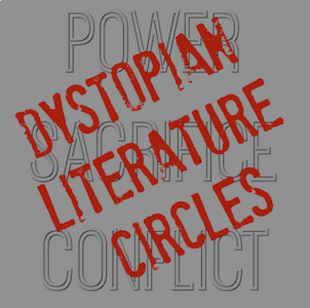 Dystopian Literature Circles for English Language Arts