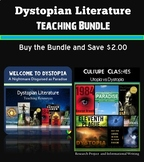 Dystopian Literature, Novels, and Short Stories Teaching Bundle
