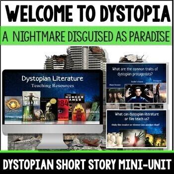 Dystopian Literature, Novels, and Short Stories Teaching Bundle