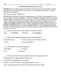 Dystopian Literature Reading Skills Assessment PARCC & CCSS