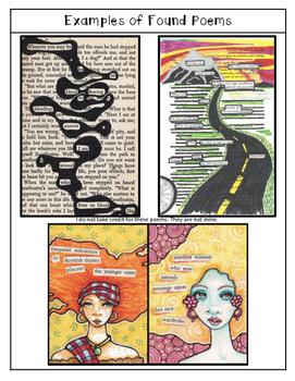 Dystopian Novel Found Poem Activity