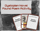 Dystopian Novel Found Poem Activity