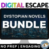 Dystopian Novels Digital Escape Room Review Bundle